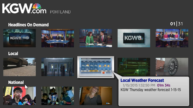 KGW Roku Channel